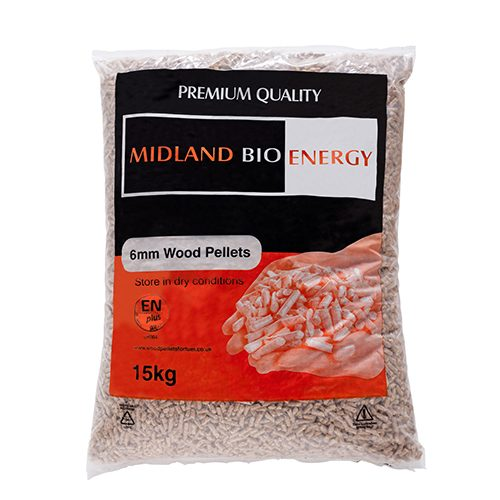 Image of Bagged Wood Pellets