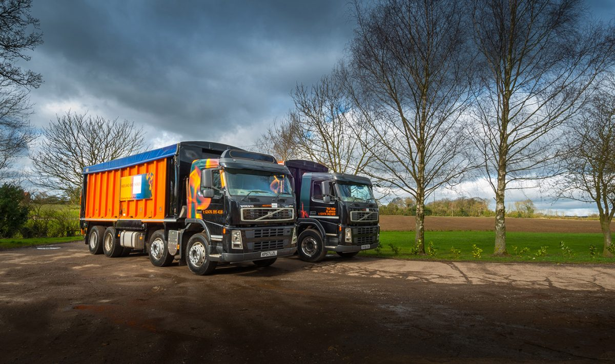 Image of Midland Bio Energy Bulk Wood Pellet Lorries