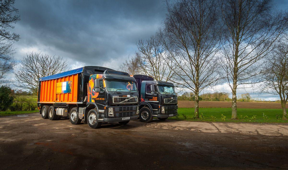 Image of Midland Bio Energy Bulk Wood Pellet Lorries