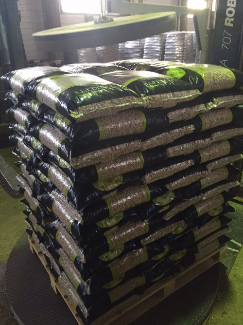 Image of Pallet Of Sparklets Wood Pellets